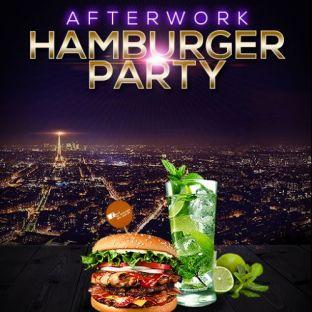 After Work AFTER WORK HAMBURGER PARTY SUR LES TOITS DE PARIS (ROOFTOP / BURGERS / MOJITOS) Vendredi 24 janvier 2020