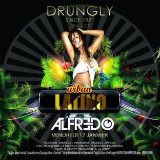 Soirée clubbing ☆✭☆ Urban Latino - DJ Alfredo ☆✭☆ Vendredi 17 janvier 2020