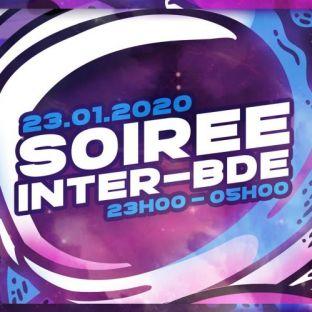 Soirée étudiante  SOIRÉE INTER BDE Jeudi 23 janvier 2020