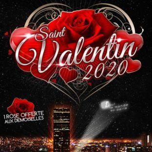 Soirée clubbing SAINT VALENTIN SUR LES TOITS DE PARIS (DINER + SOIREE) FILLE = GRATUIT avec L'INVITATION Vendredi 14 fevrier 2020