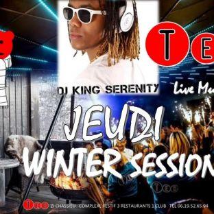 Soirée clubbing WINTER SESSION Jeudi 20 fevrier 2020