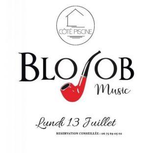 Concert Blo Job live @ Côté Piscine Lundi 13 juillet 2020