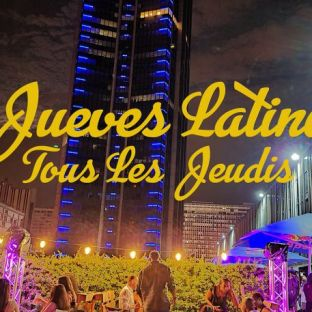 After Work JUEVES LATINO SUR LES TOITS DE PARIS (COURS DE DANSE / SOIREE / TERRASSE GÉANTE / ROOFTOP / MOJITOS) Jeudi 24 septembre 2020