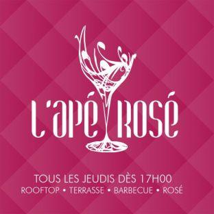 After Work L'APÉROSÉ : BARBECUE GÉANT SUR LES TOITS DE PARIS (GRATUIT / TERRASSE GÉANTE / ROSÉ / ROOFTOP / MOJI Jeudi 24 septembre 2020