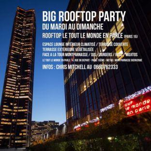 After Work BIG ROOFTOP PARTY (DU MARDI AU DIMANCHE) - GRATUIT avec INVITATION Samedi 31 juillet 2021