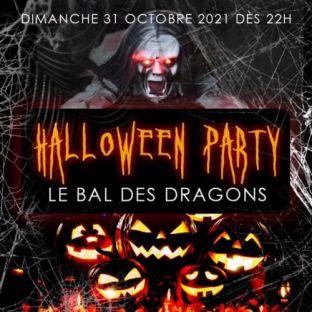 Soirée clubbing LE BAL DES DRAGONS HALLOWEEN PARTY LOFT GÉANT HANTÉ DE 1000M2 Dimanche 31 octobre 2021