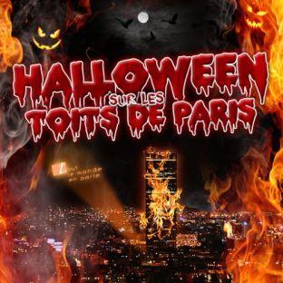 After Work HALLOWEEN SUR LES TOITS DE PARIS (BEFORE + SOIREE CLUBBING) Dimanche 31 octobre 2021