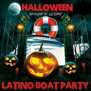 Soirée clubbing HALLOWEEN LATINO BOAT PARTY (APERO,CROISIERE,SOIREE,DEUX AMBIANCES) Dimanche 31 octobre 2021