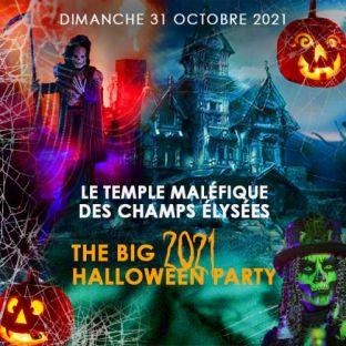 Soirée clubbing LE TEMPLE MALÉFIQUE DES CHAMPS ÉLYSÉES THE BIG HALLOWEEN PARTY 2021 + DE 1000 VAMPIRES Dimanche 31 octobre 2021