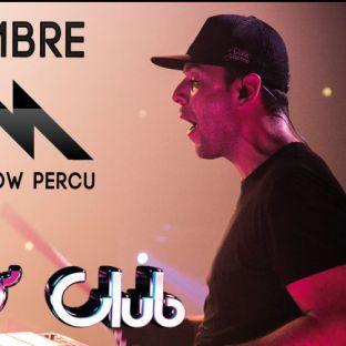 Soirée clubbing VINCE M (MIX & SHOW  PERCU) Samedi 10 decembre 2016