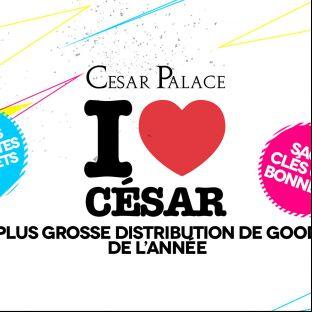 Soirée clubbing  I <3 Cesar Samedi 21 janvier 2017