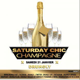 Soirée clubbing ✭☆✭ Saturday CHIC ☆✭☆ Samedi 21 janvier 2017