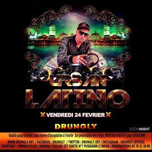 Soirée clubbing Urban Latino By Dj Masto Vendredi 24 fevrier 2017