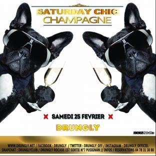 Soirée clubbing ✭☆✭ Saturday CHIC ☆✭☆ Samedi 25 fevrier 2017