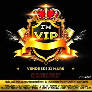 Soirée clubbing ☆✭☆✭ VIP ☆✭☆ Vendredi 31 mars 2017