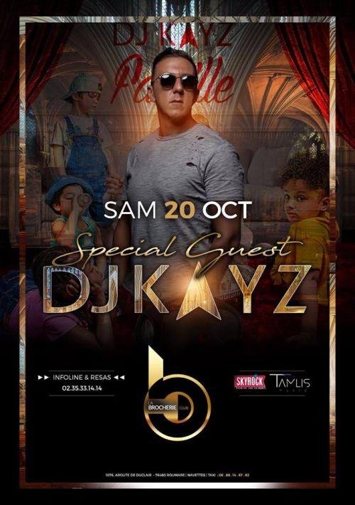 Soirée clubbing DJ KAYZ IS BACK  Samedi 20 octobre 2018
