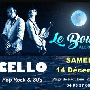 Concert Le Bounty Aleria presente en duo Pop avec le Groupe Cello Samedi 14 decembre 2019