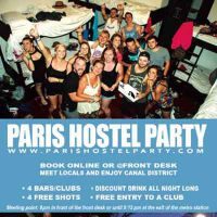 Paris Hostel Party Paris