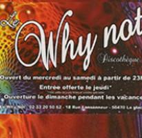 Why not vendredi 23 decembre  LA GLACERIE