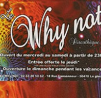 Why not vendredi 23 decembre  LA GLACERIE