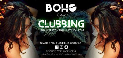 Soirée clubbing clubbing Vendredi 19 janvier 2018