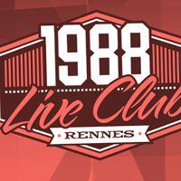 Soirée clubbing 1988 Live Vendredi 20 octobre 2017