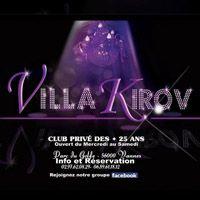 Soirée clubbing Villa Kirov Jeudi 27 octobre 2016