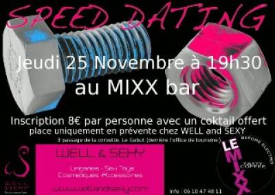 soiree speed dating la rochelle Speed dating la rochelle 2015 - men looking for a woman - women looking for a woman if you are a middle-aged woman looking to have a good time dating woman half your age, this advertisement.