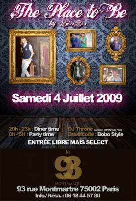 93 Montmartre samedi 04 juillet  Paris