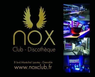 Nox Club samedi 26 mars  Grenoble