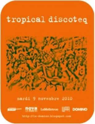 Favela Chic mardi 09 Novembre  Paris