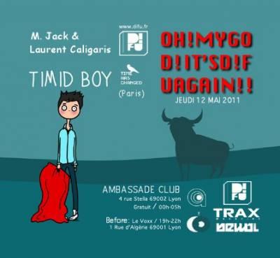 Ambassade Night Club jeudi 12 mai  Lyon