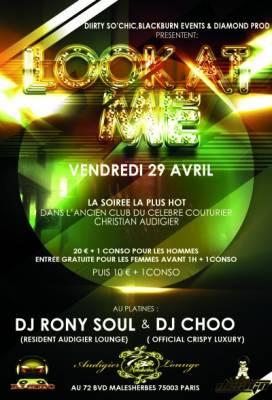 72 M vendredi 29 avril  Paris