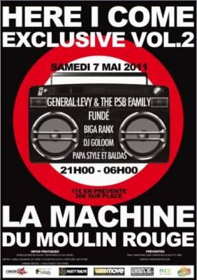 La Machine du Moulin Rouge jeudi 05 mai  Paris