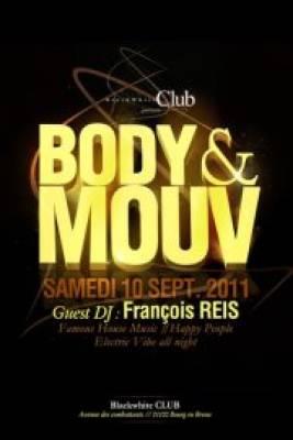 Blackwhite Club samedi 10 septembre  Bourg-en-Bresse