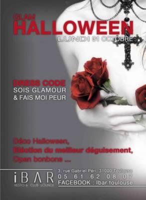 IBar lundi 31 octobre  Toulouse