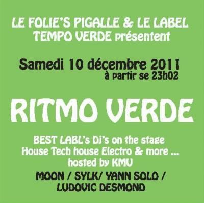 Folie's Pigalle samedi 10 decembre  Paris