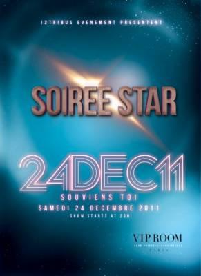 VIP Room samedi 24 decembre  Paris