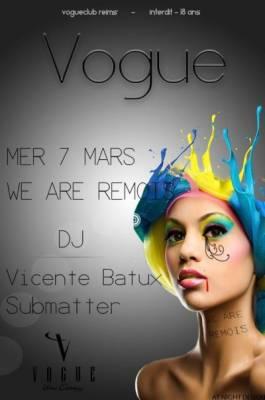 Vogue mercredi 07 mars  Reims
