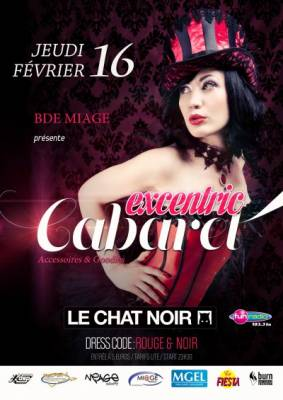 soir e chat noir nancy jeudi 16 fevrier 2012 soir e tudiante excentric cabaret. Black Bedroom Furniture Sets. Home Design Ideas