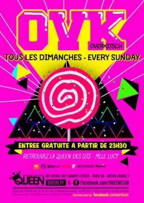 Queen Club dimanche 18 mars  Paris