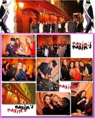 Maxim's jeudi 12 avril  Paris