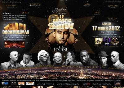 Docks Pullman Paris samedi 17 mars  Paris