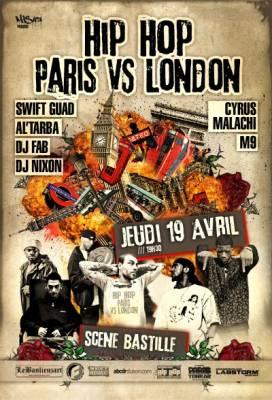 Scene Bastille jeudi 19 avril  Paris