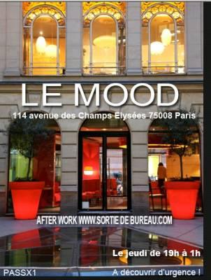 Mood jeudi 05 avril  Paris