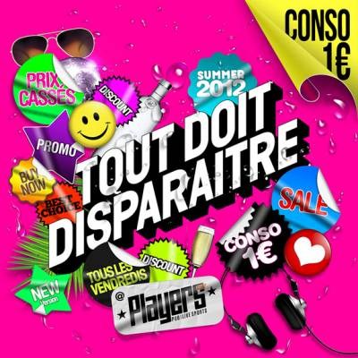 Players vendredi 20 juillet  Paris