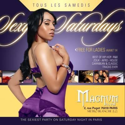Magnum Club samedi 05 mai  Paris