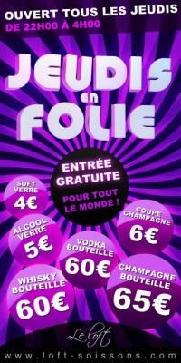 Loft Club jeudi 24 mai  Soissons