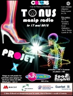 Colors club jeudi 17 mai  Nantes