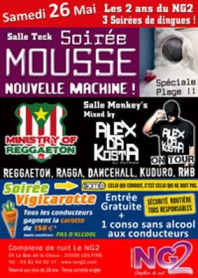 Omnia Club samedi 26 mai  Les Fins